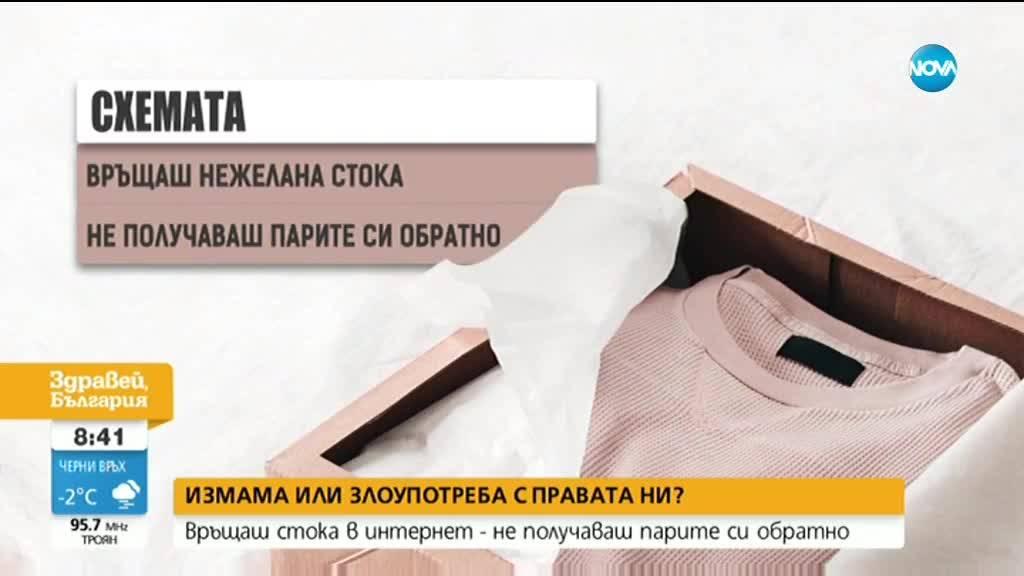 ПРОВЕРКА НА NOVA: Връщаш стока в интернет - не получаваш парите си обратно