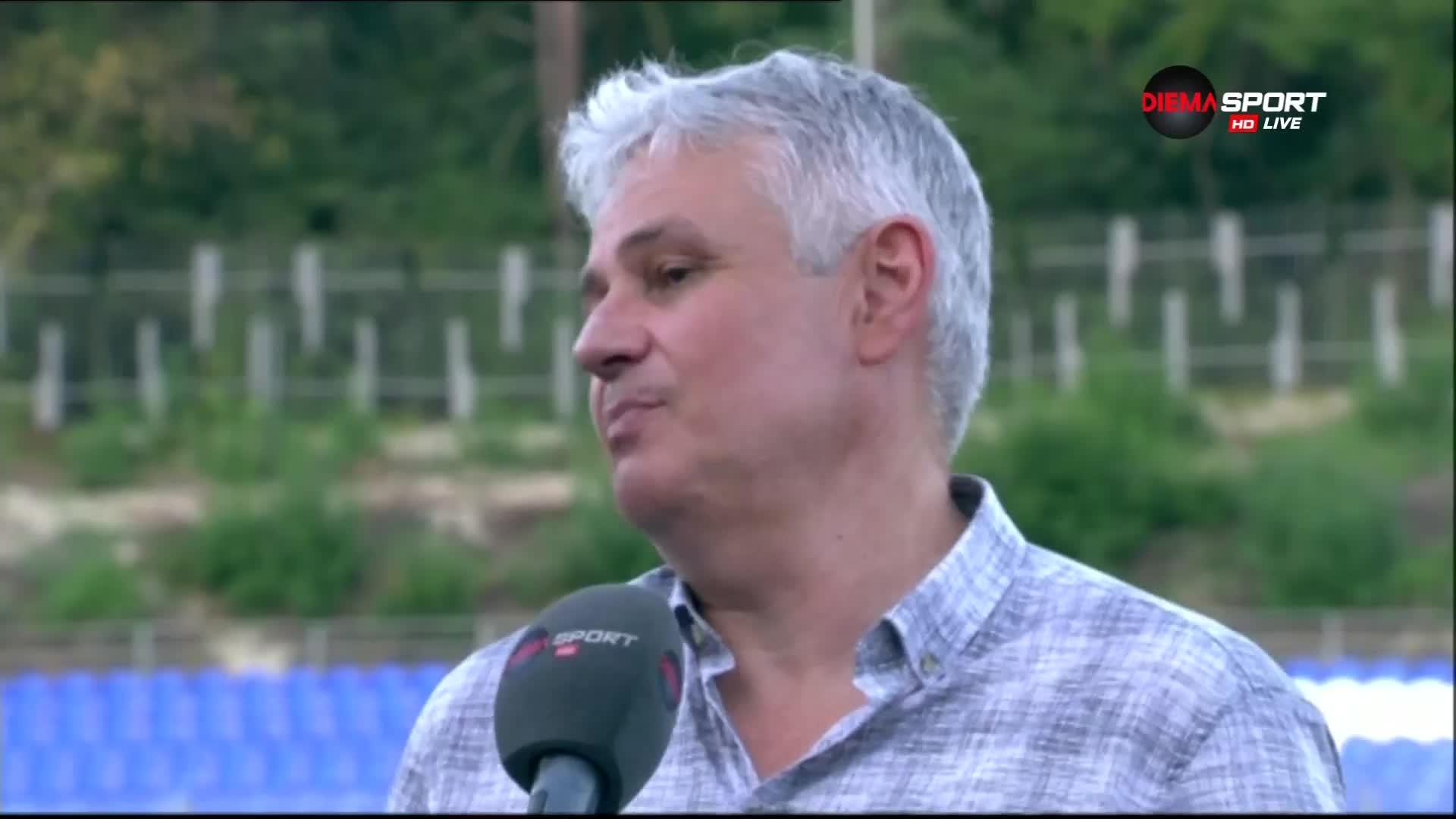 Стойчо Стоев: Не съм си представял, че ще поема отбор от Втора лига