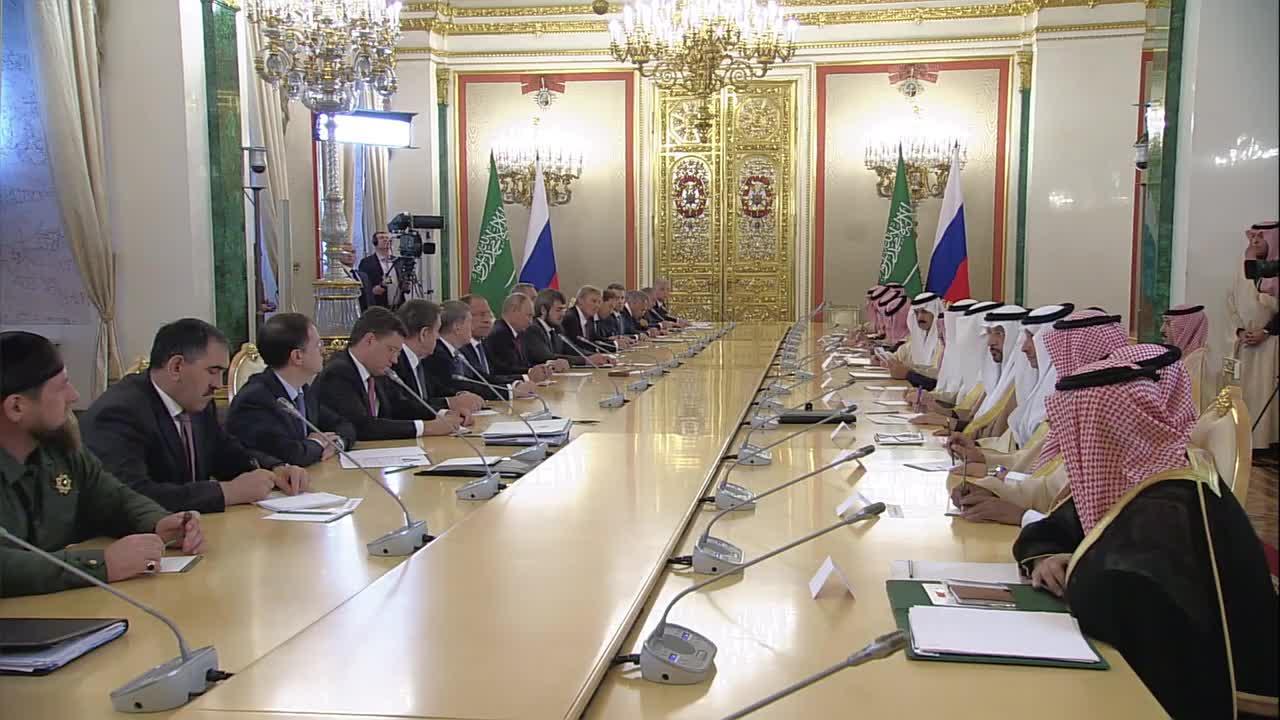 Russia: We strive 'to achieve stability in global oil markets' - King of Saudi Arabia