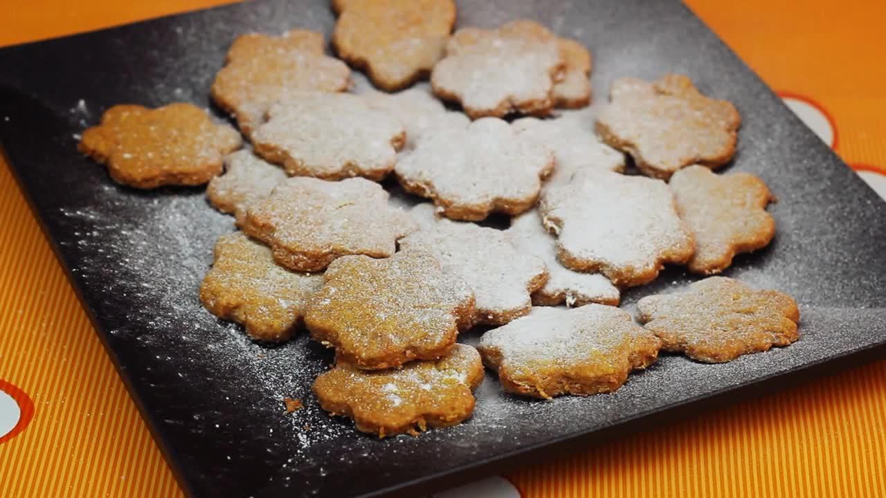 Морковени бисквити