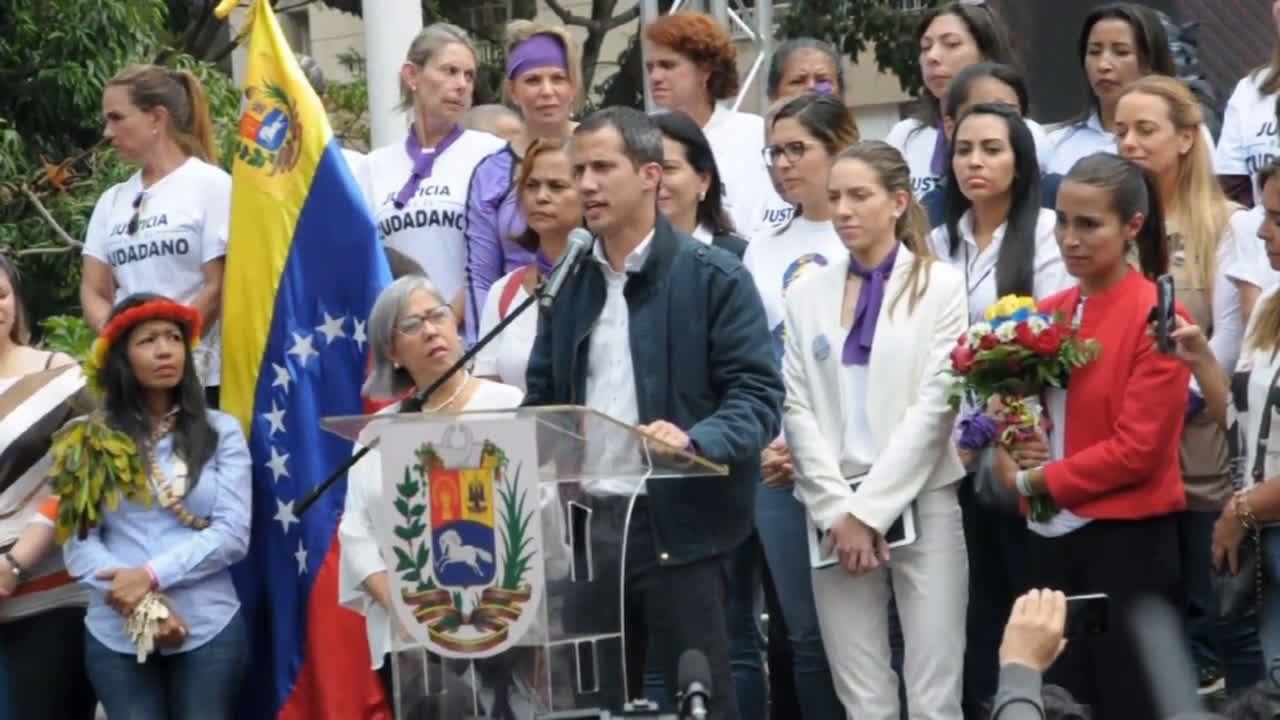 Venezuela: \'We have looked evil in the face\' - Guaido
