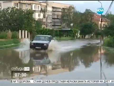 Река Скът преля и предизвика воден ад в град Мизия