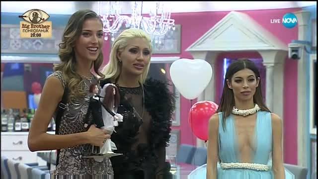 Джулиана и Александра напускат Къщата преди големия Финал - VIP Brother 2017