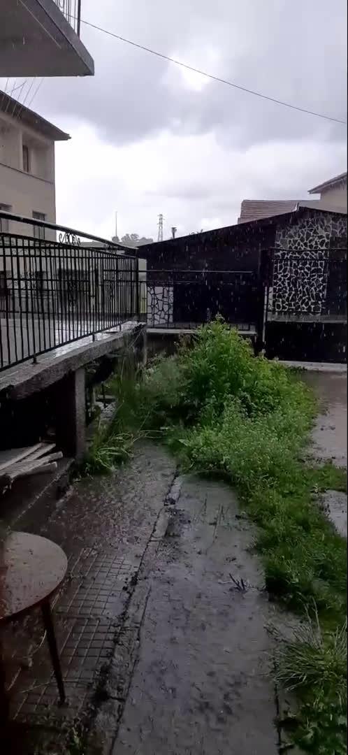 """От """"Моята новина"""": Проливен дъжд в село Говедарци"""