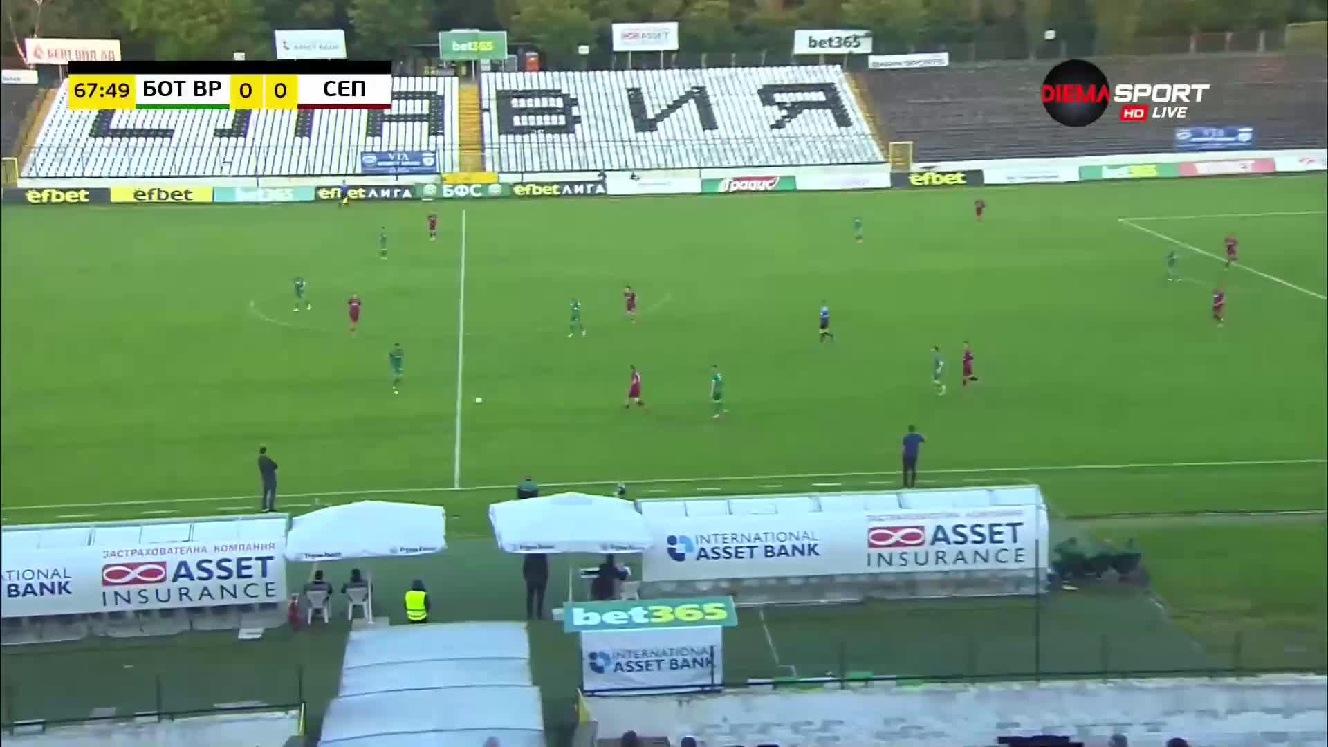 Ботев Враца - Септември Сф 1:0 /репортаж/