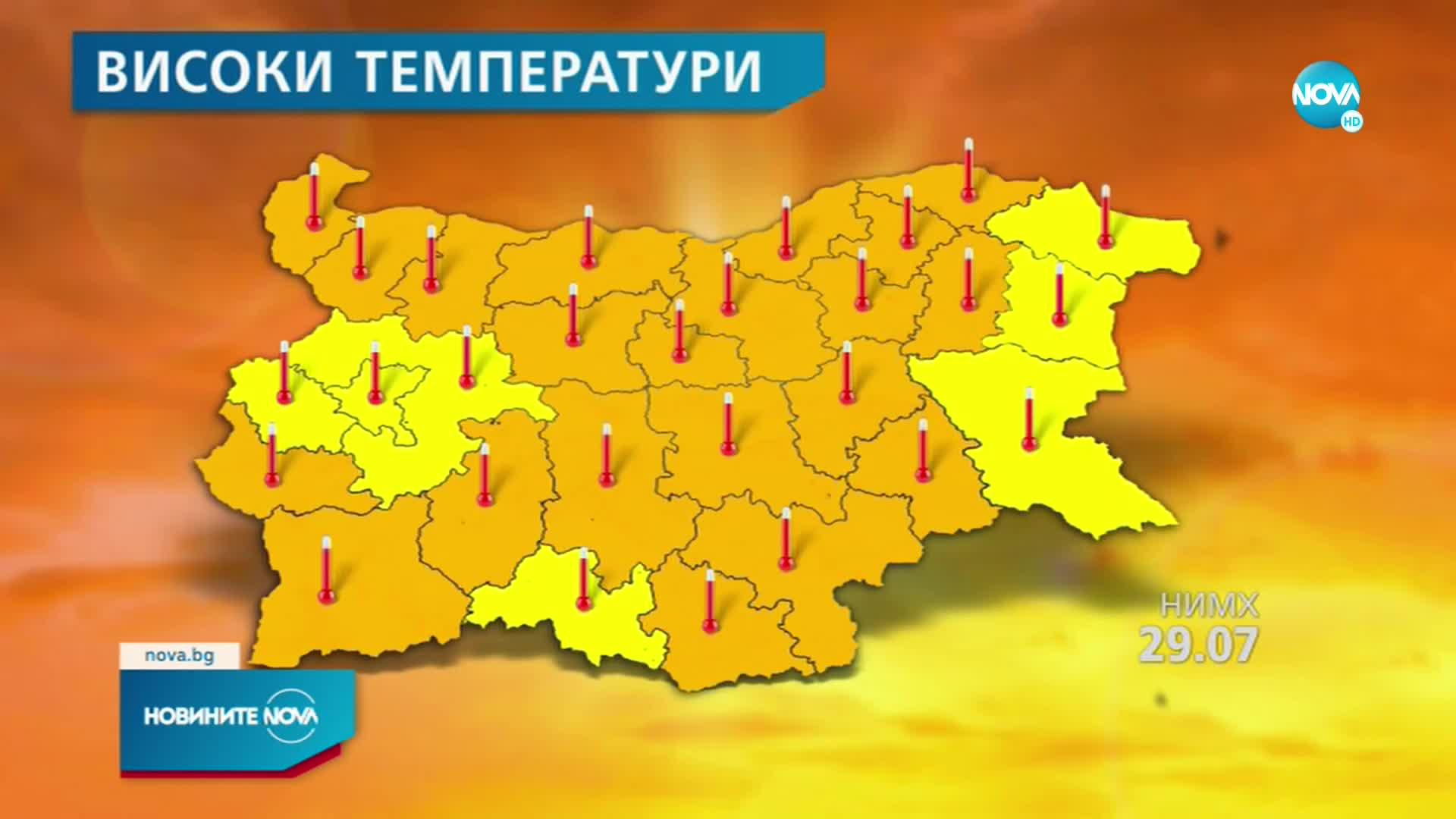 ЕКСТРЕМНИ ГОРЕЩИНИ: Термометрите скачат до 41 градуса
