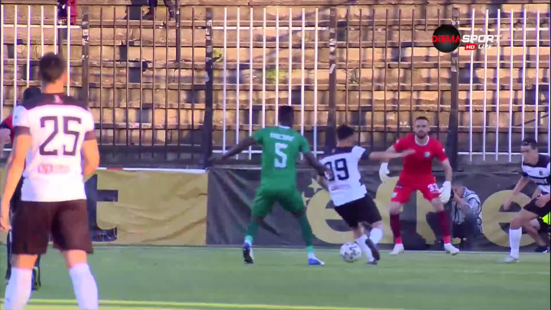 Локомотив Пловдив - Берое 0:0 /първо полувреме/