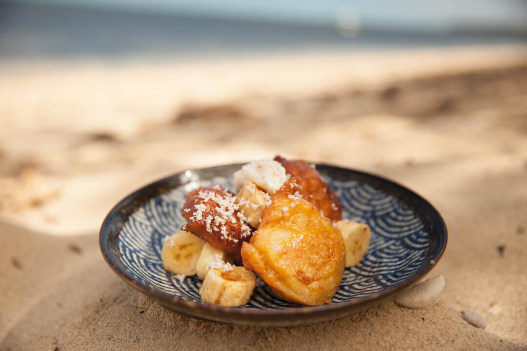 Бананови топки с кокос и мед | Джъстин Скофийлд
