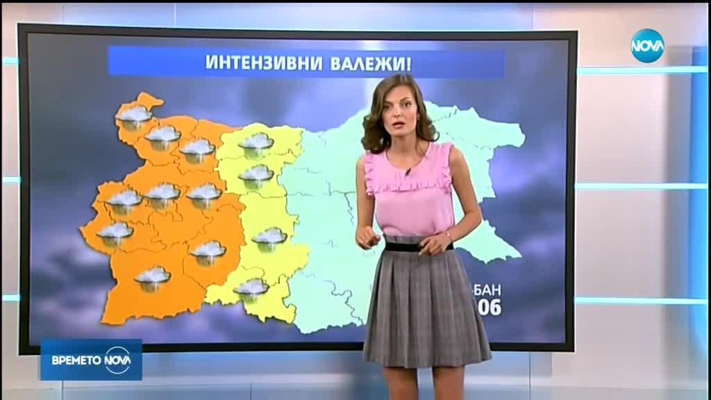 Прогноза за времето (14.06.2018 - обедна)