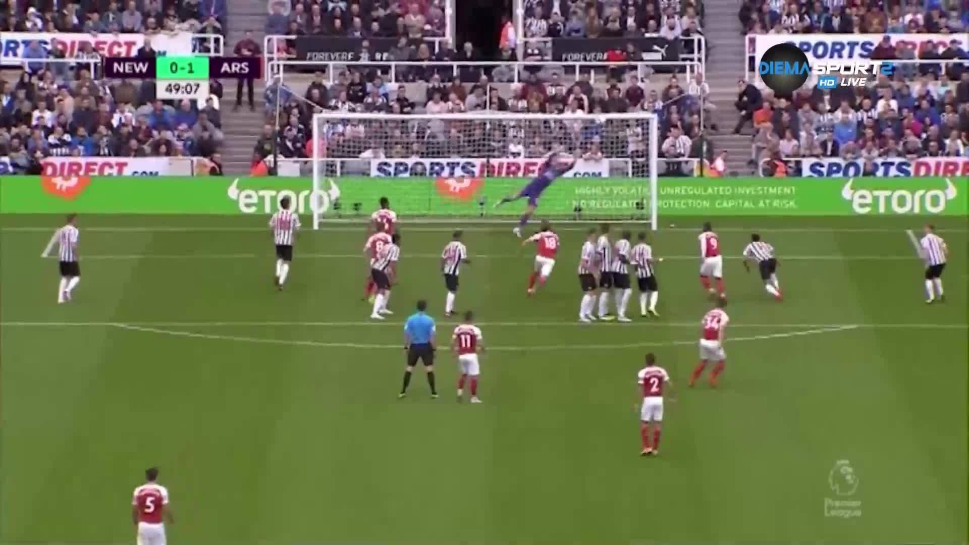 Нюкасъл - Арсенал 1:2 /репортаж/
