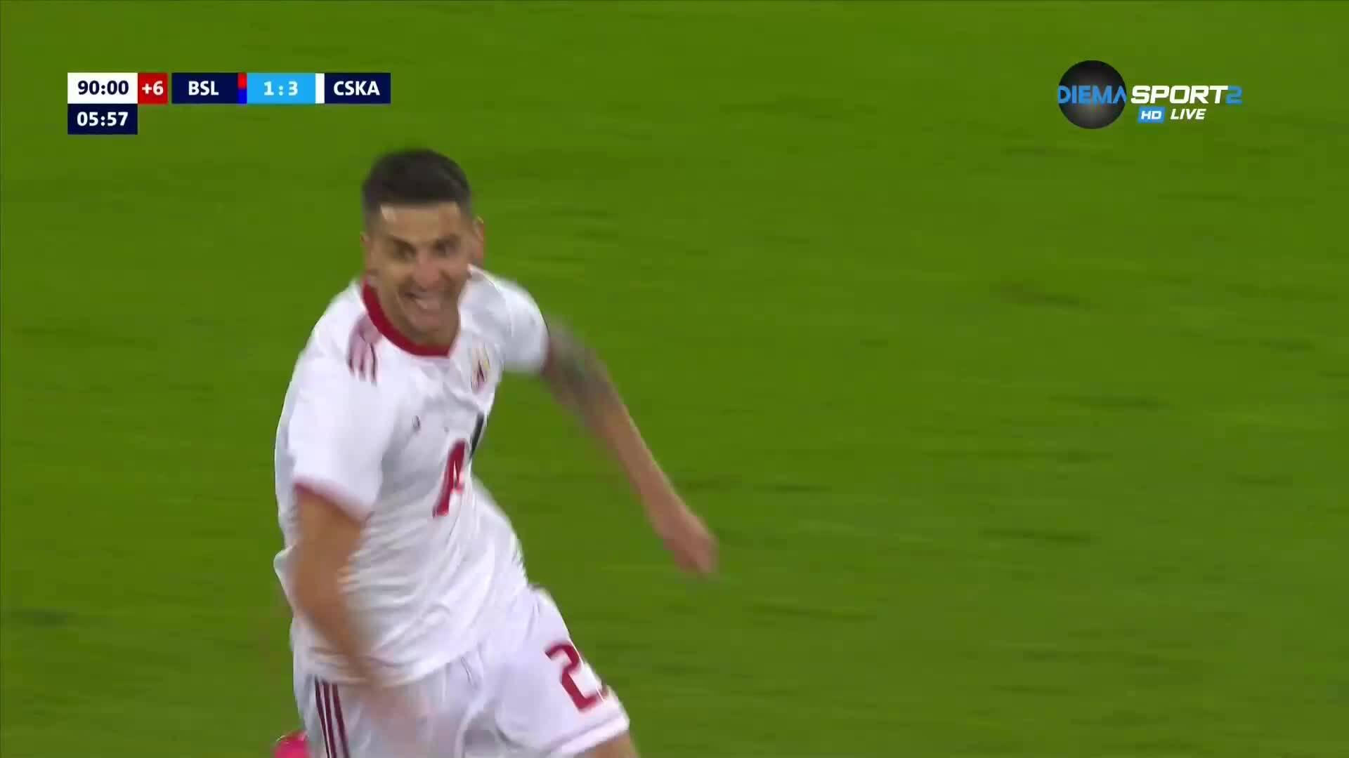 Ахмедов сложи точка на спора с трети гол за ЦСКА