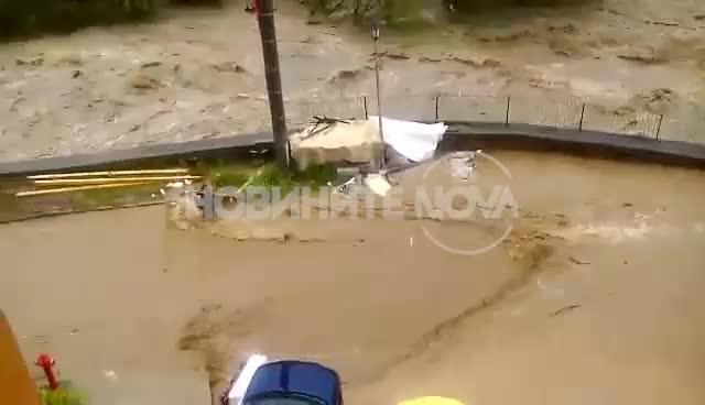 Бедствено положение в Смолян, река Черна преля