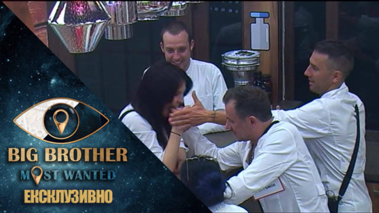 Жени ухапва Гъмов, за да спечели на канадска борба - Big Brother: Most Wanted 2018