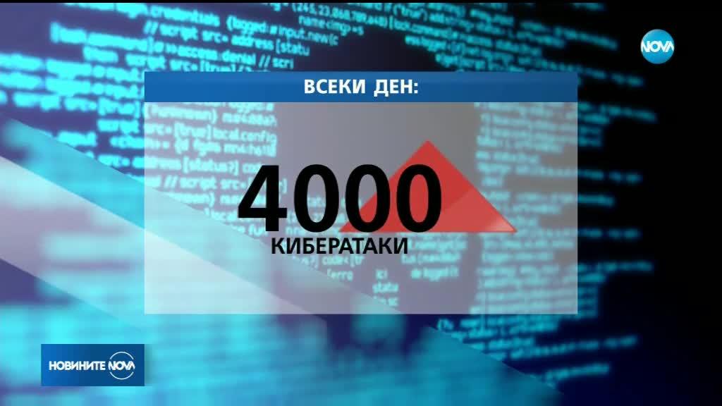 Над 4000 кибератаки се осъществяват всеки ден