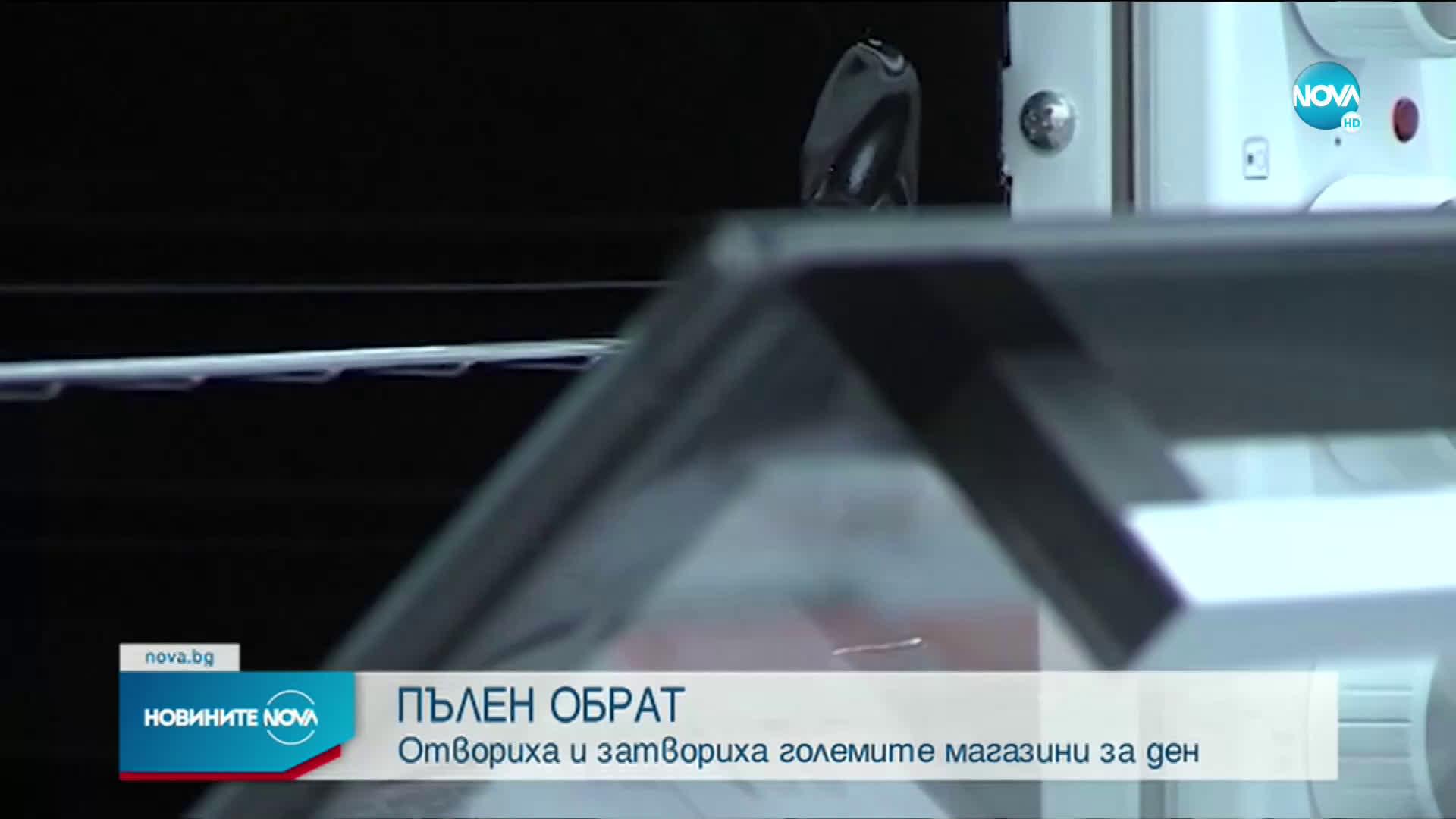 ОБРАТ: Големите магазини няма да отварят