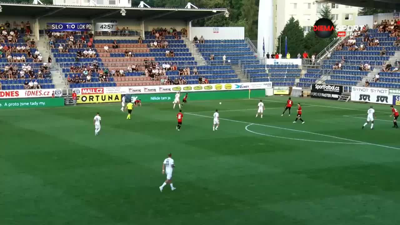 Словачко - Локомотив Пд 1:0 /редовно време/