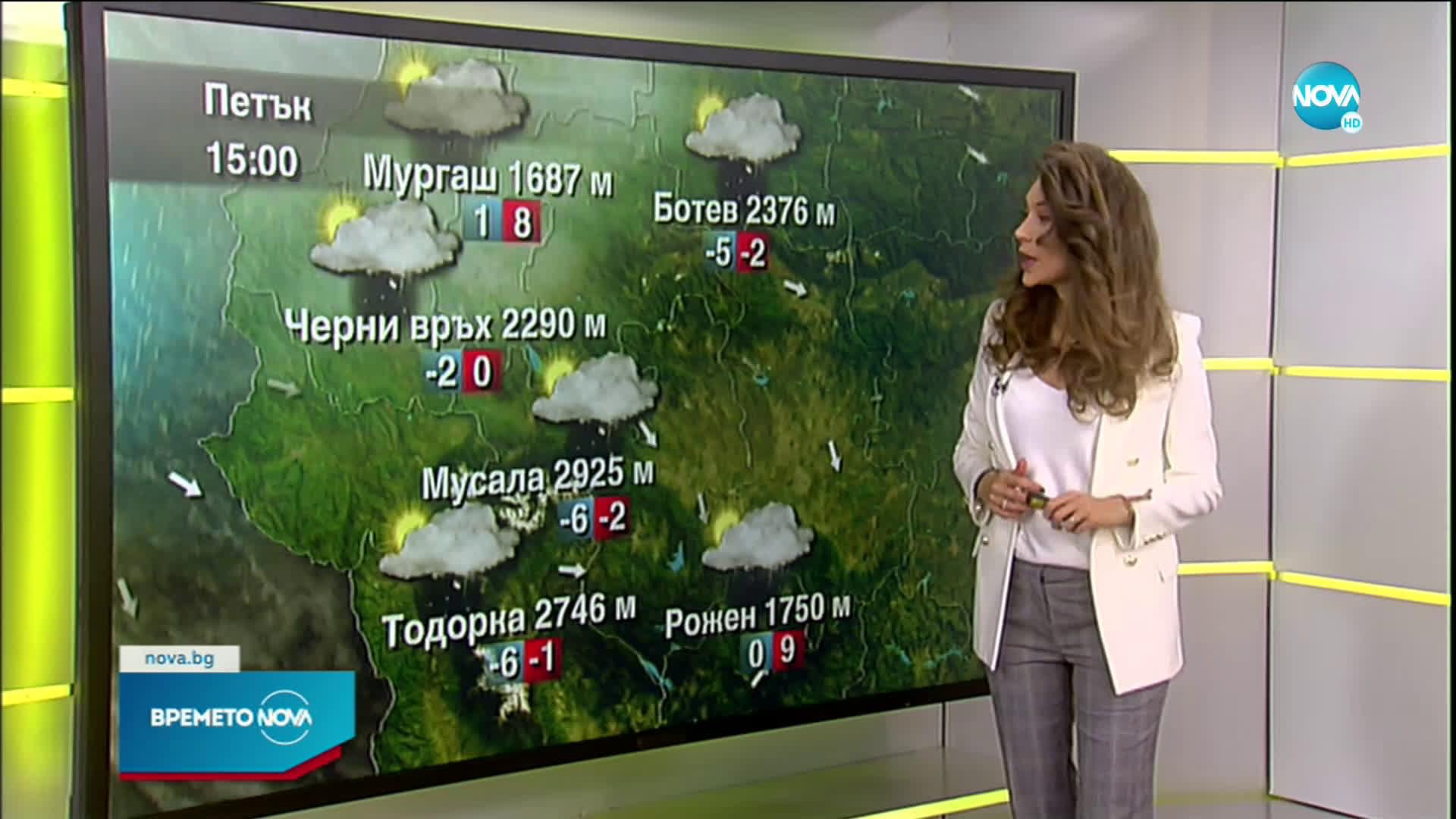 Прогноза за времето (02.04.2021 - сутрешна)