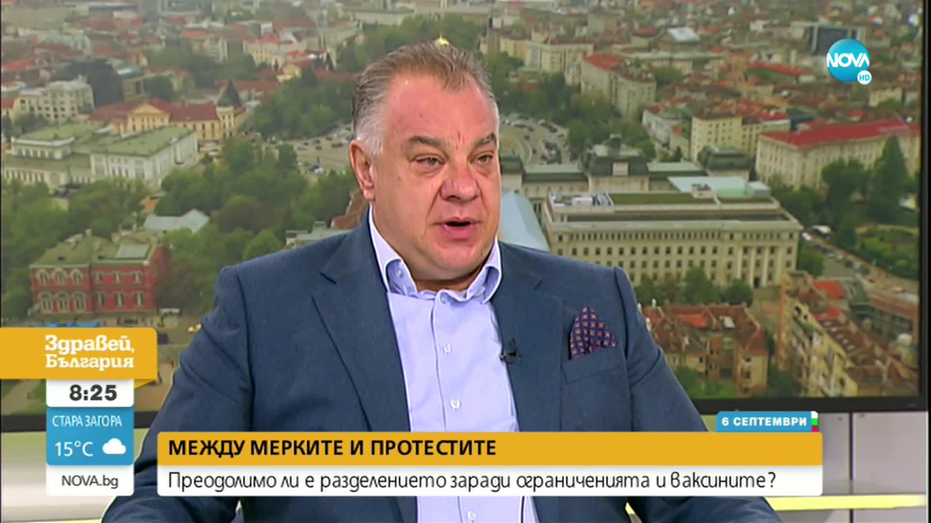 Д-р Ненков: Пациентопотокът лека полека нараства