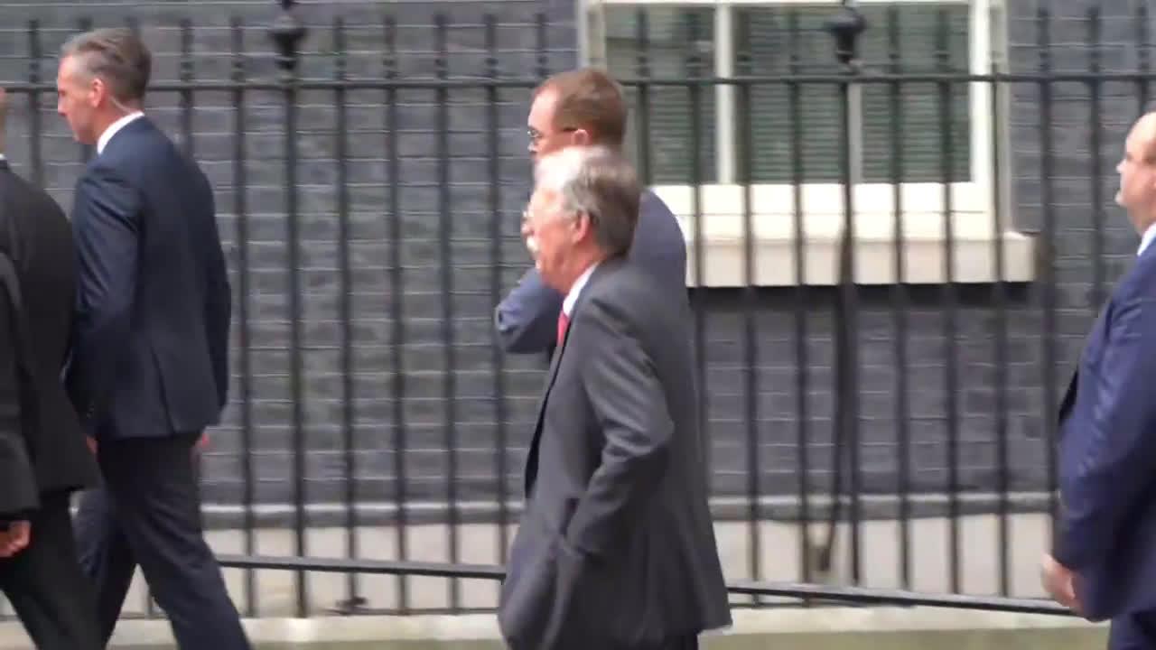 UK: Trump meets May at Downing Street