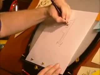 Как да нарисуваме Кандис? Disney Channel 2011 Phineas and Ferb Candice