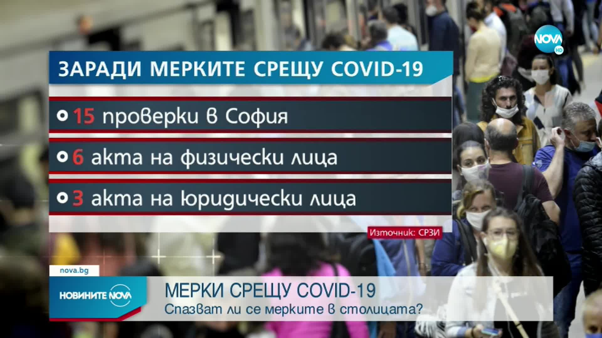 РЗИ-София написа актове на заведения, неспазващи вечерния час