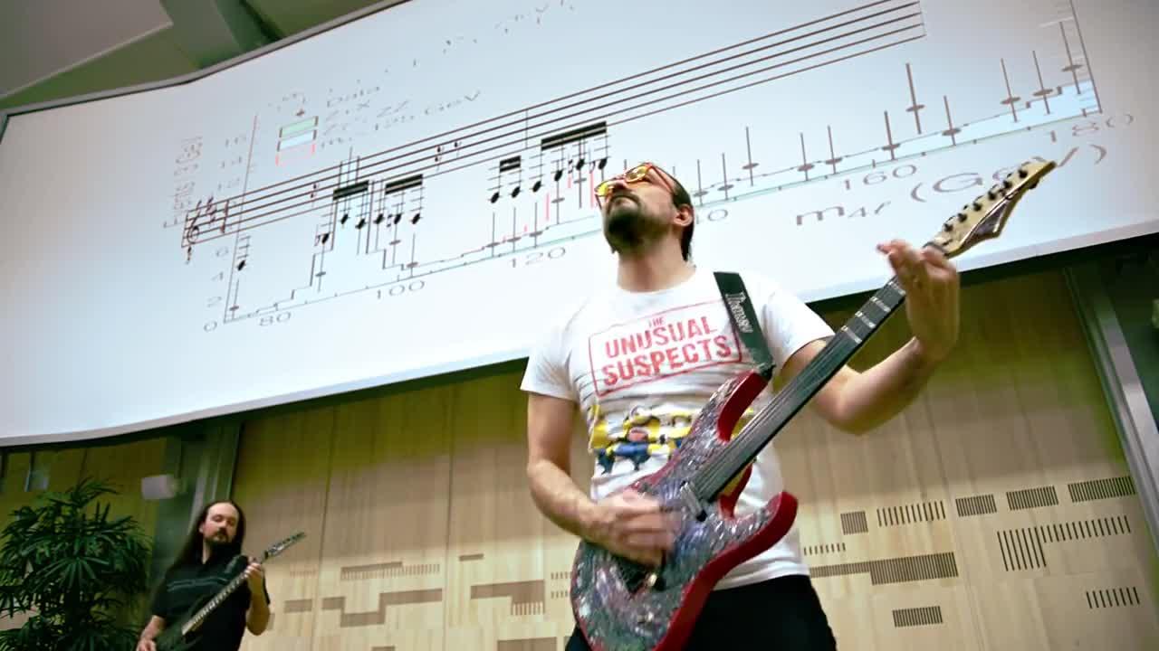 Хигс бозонът зазвуча като мелодия в стил хеви метъл