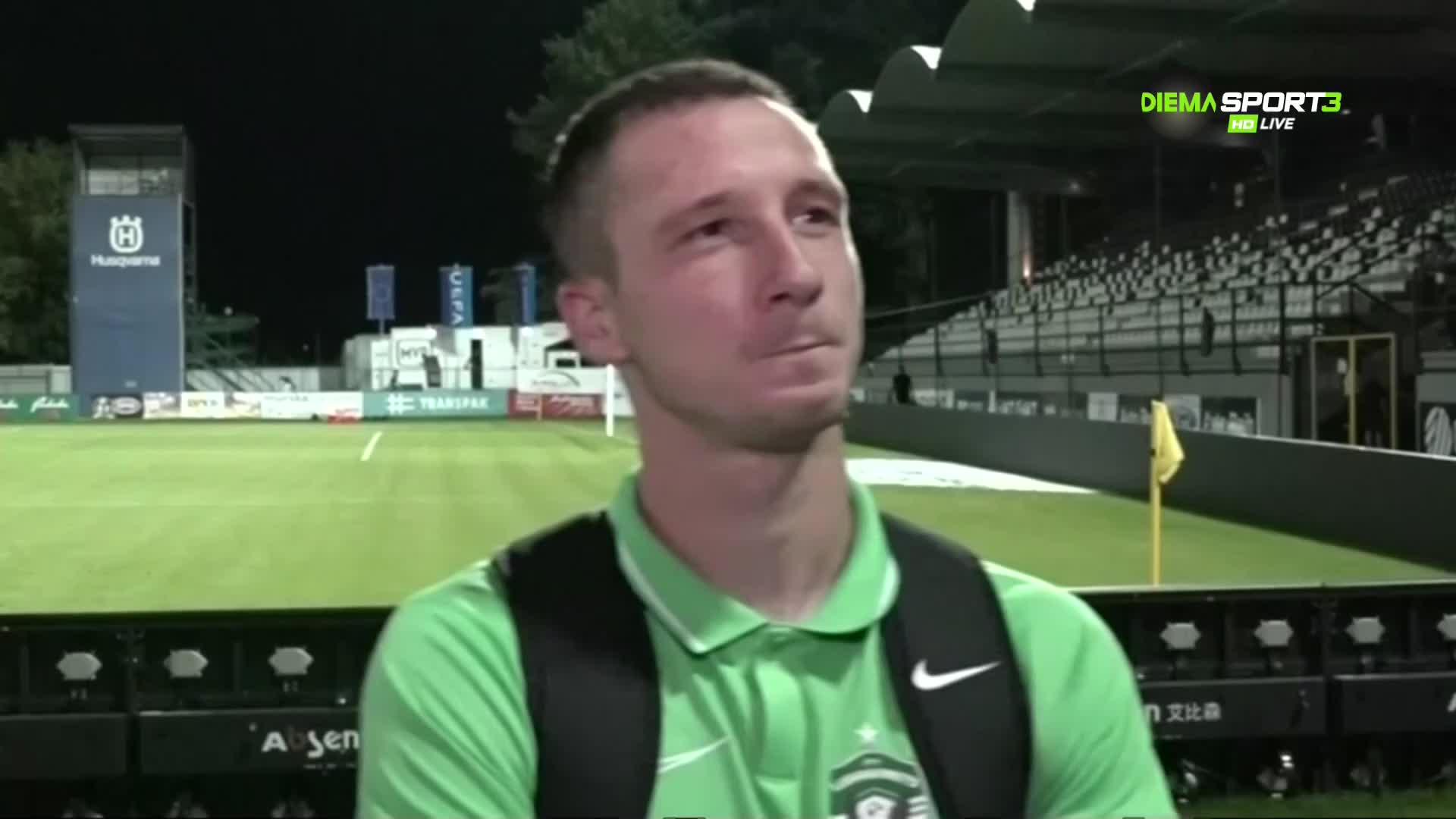 Недялков: Оценката ми за мача е лоша, Кешеру ни липсва