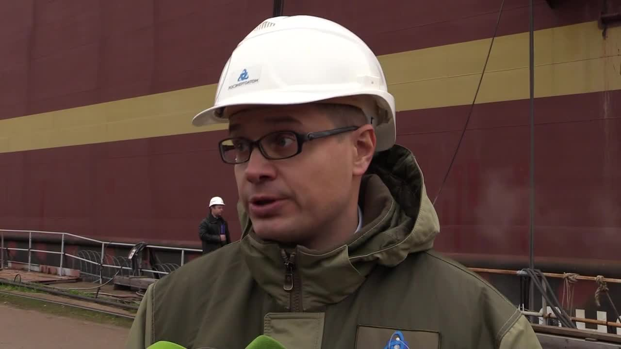 Russia: World's first floating nuclear power plant nearing completion