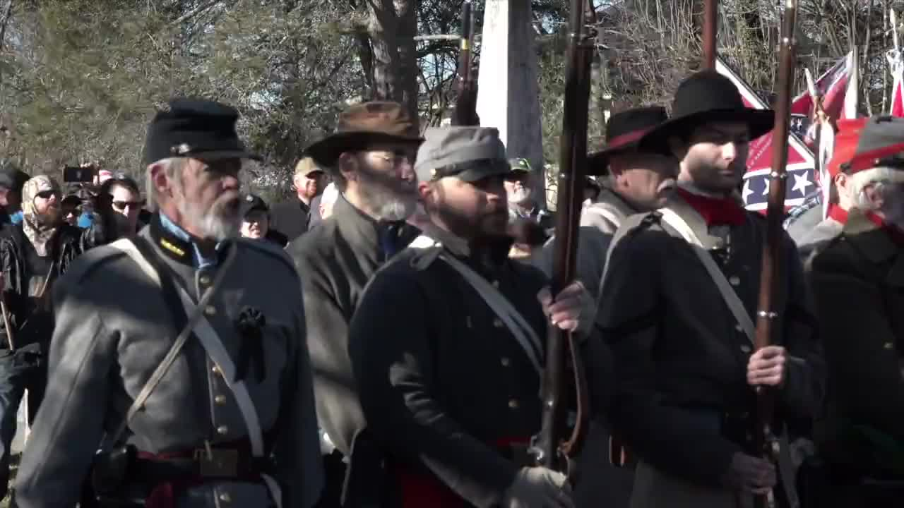 USA: Virginia honours Confederate civil war generals on Lee-Jackson Day