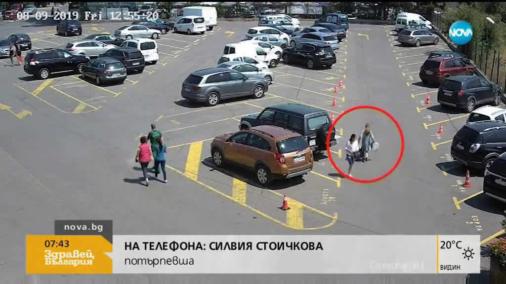 """""""Дръжте крадеца"""": Камери заснеха крадла на картина в действие"""
