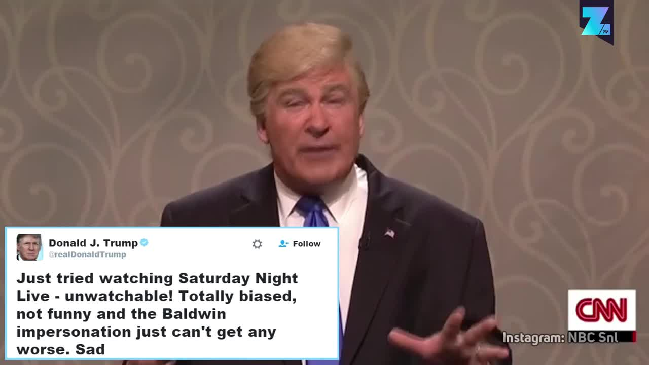 Алек Болдуин имитира Тръмп и цяла Америка се смее