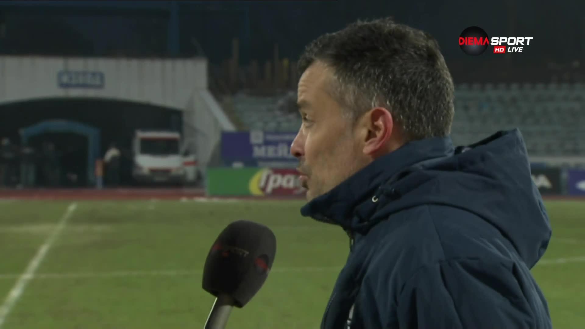 Треньорът на Дунав бесен на рефера: Подигравка! 1:1 за г-н Давидов!