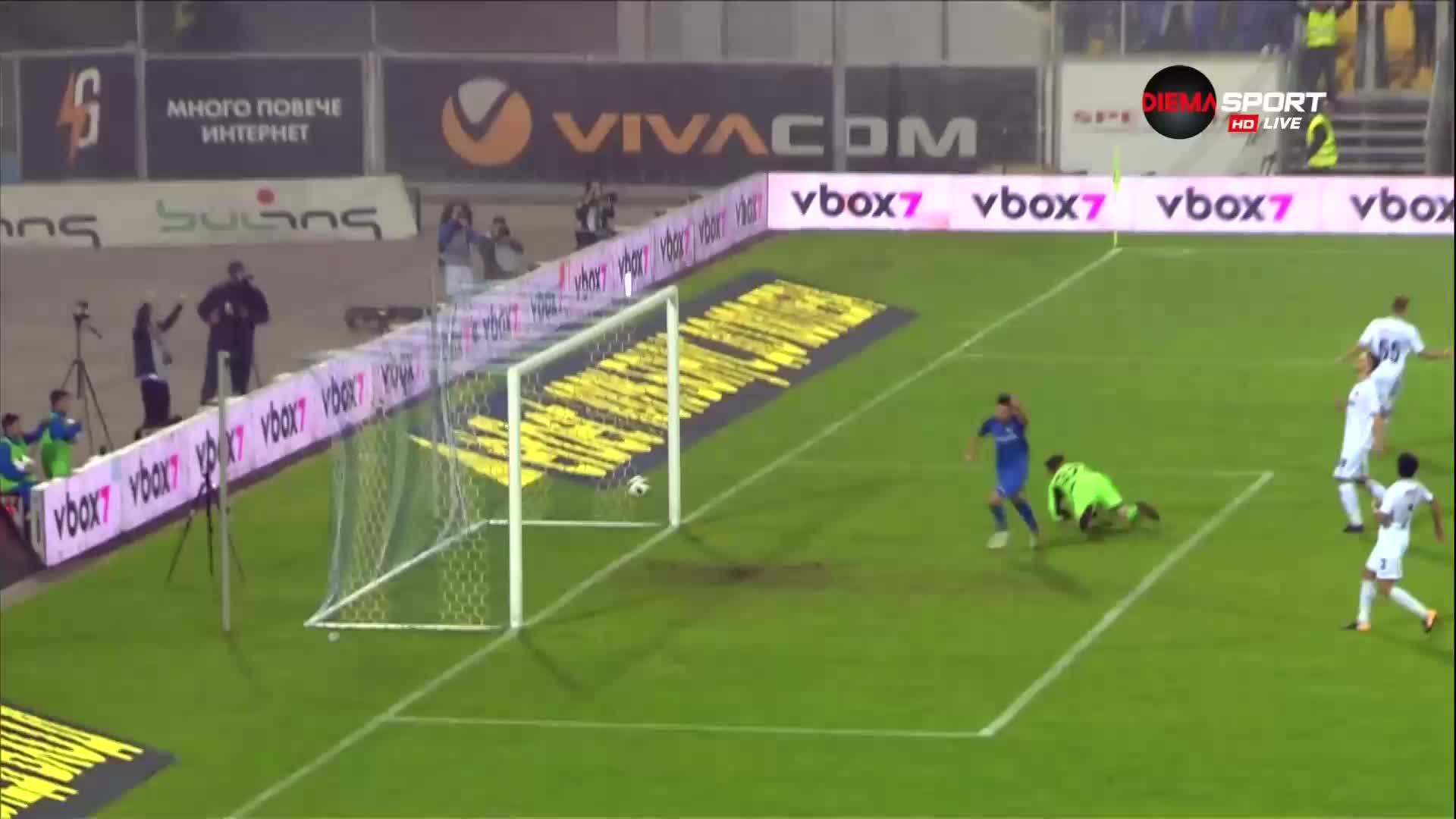 Втори гол за Левски и Станислав Костов