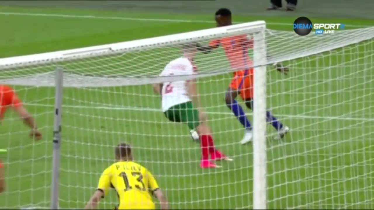 Холандия - България 3:1 /репортаж/