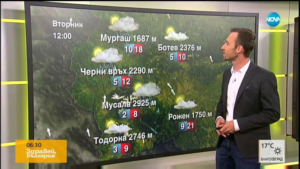 Прогноза за времето (28.05.2019 - сутрешна)