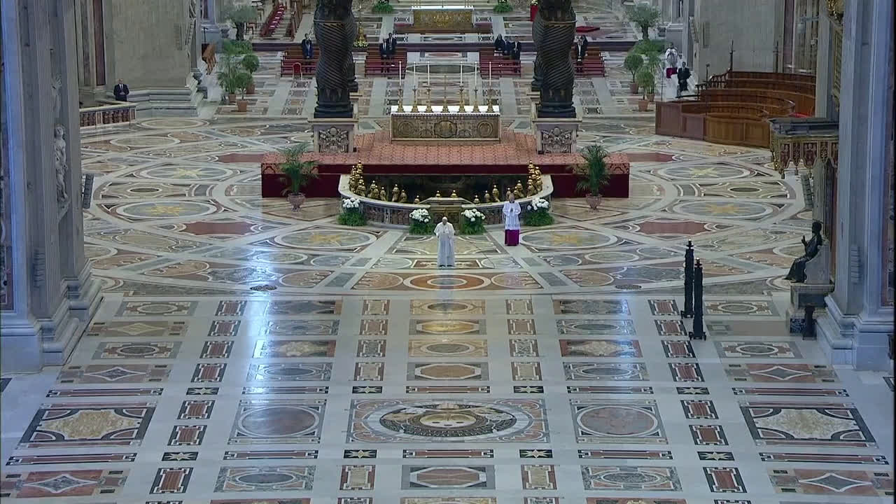 Vatican City: Pope offers message of unity at first-ever empty Easter address