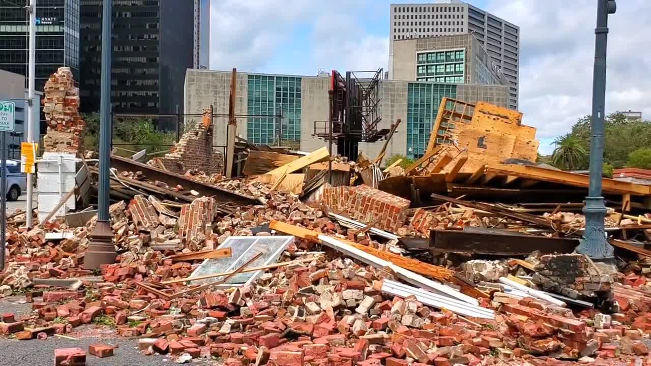 USA: Hurricane Ida destroys Louis Armstrong's 'second home' in New Orleans