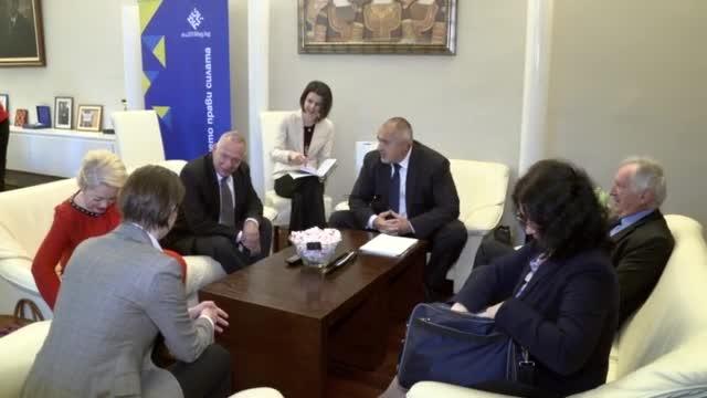 Бойко Борисов се срещна със сръбския премиер Ана Бърнабич