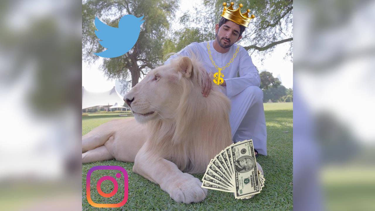 Дубайски шейх е кралят на Instagram!