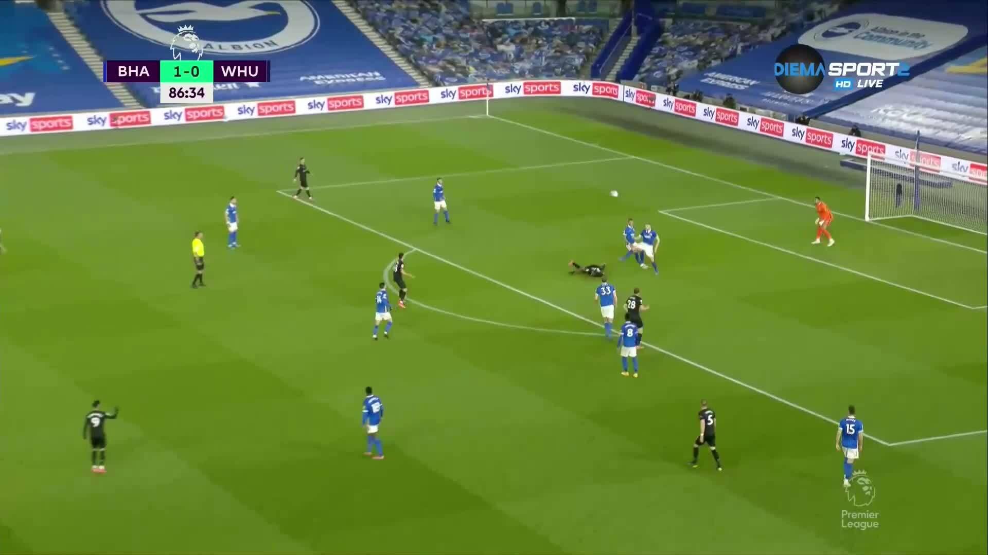 Брайтън - Уест Хем Юнайтед 1:1 /репортаж/