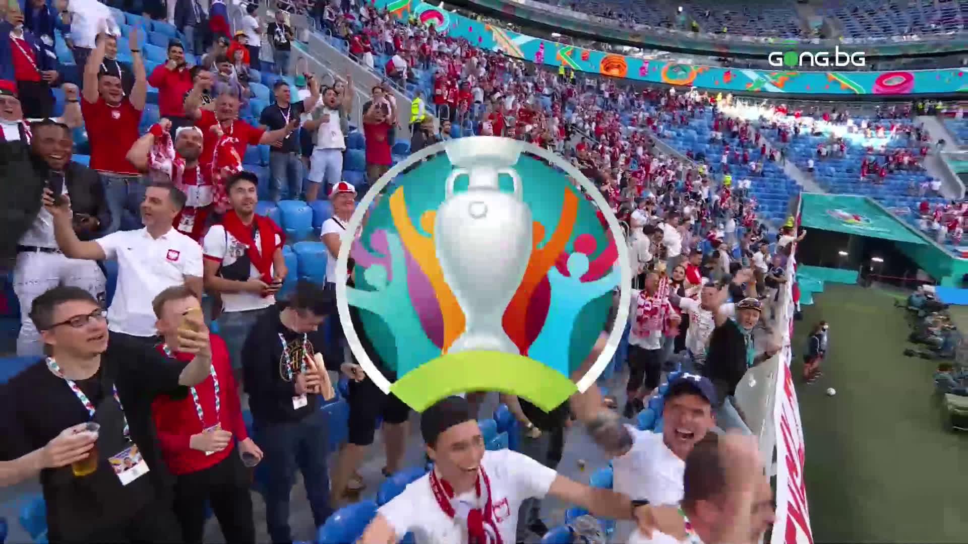 Ударно начало за Полша през втората част срещу Словакия