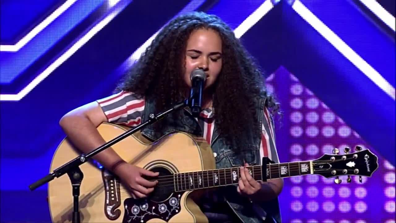 Момиче на 14 г. разплака журито и публиката с изпълнението си - X Factor Australia 2014