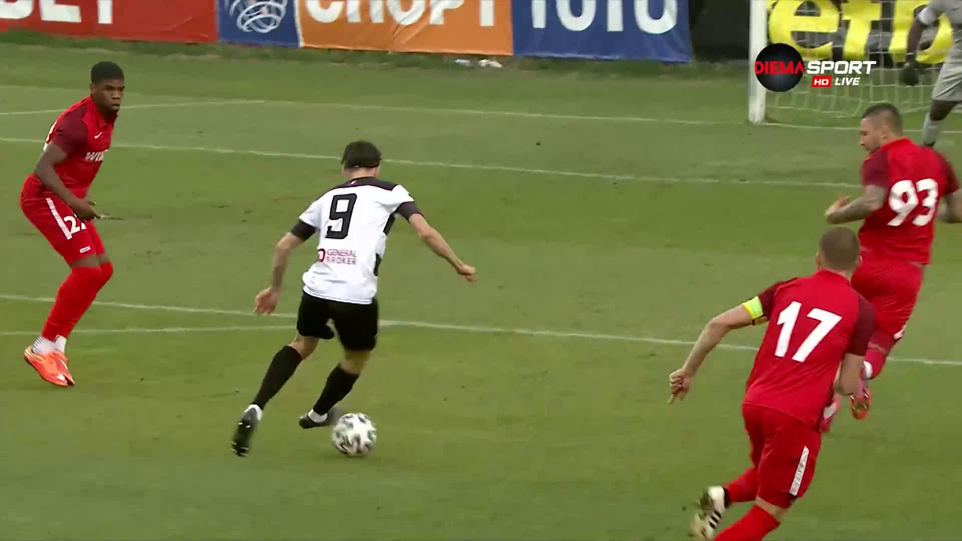 Царско село - Локомотив Пловдив 0:0 /първо полувреме/