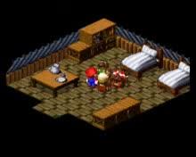 Super Mario Rpg - Walkthrough (part 17b - Through a roof) в The