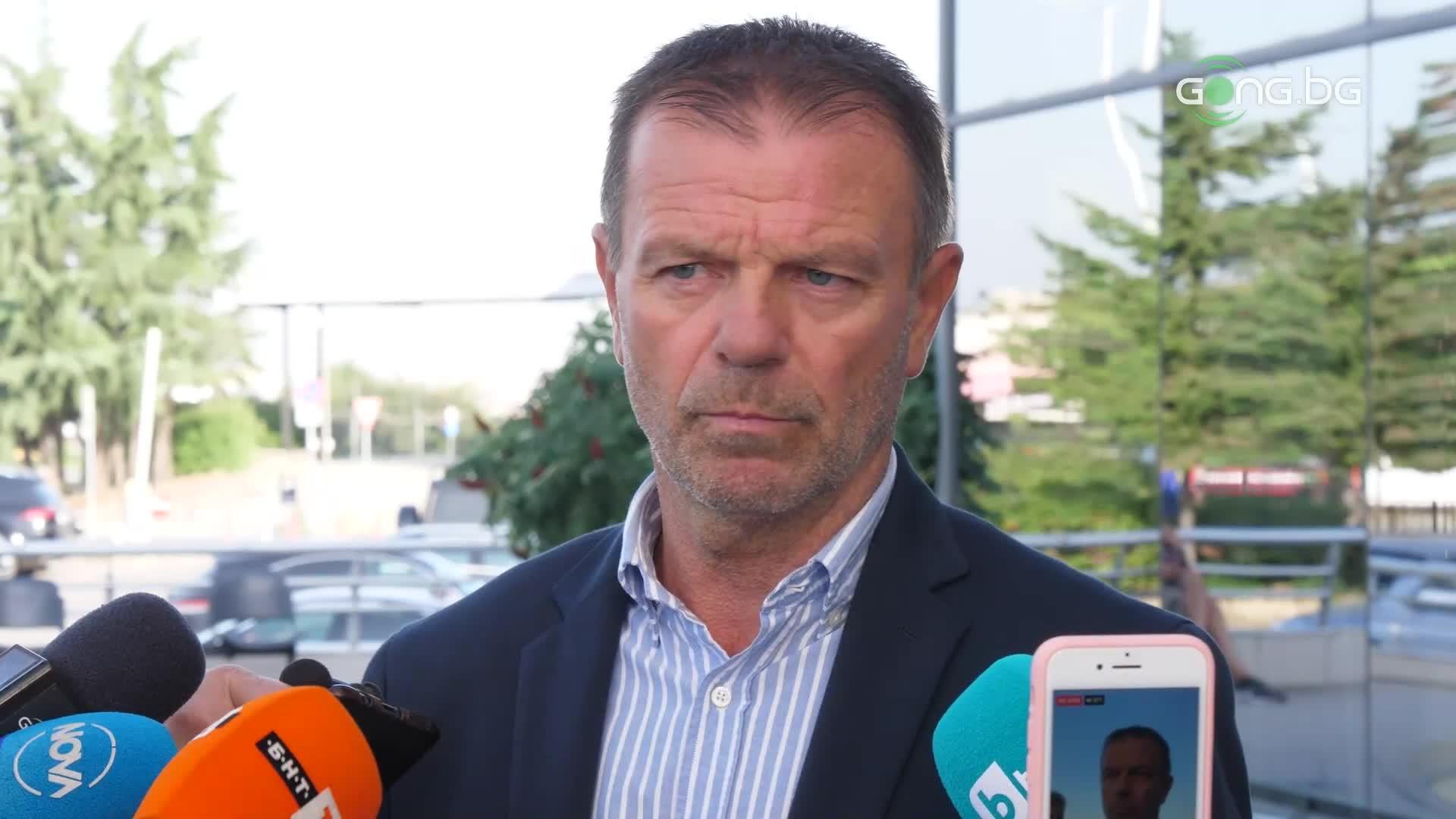 Стойчо Младенов: Който не е свикнал на напрежение, не става за ЦСКА