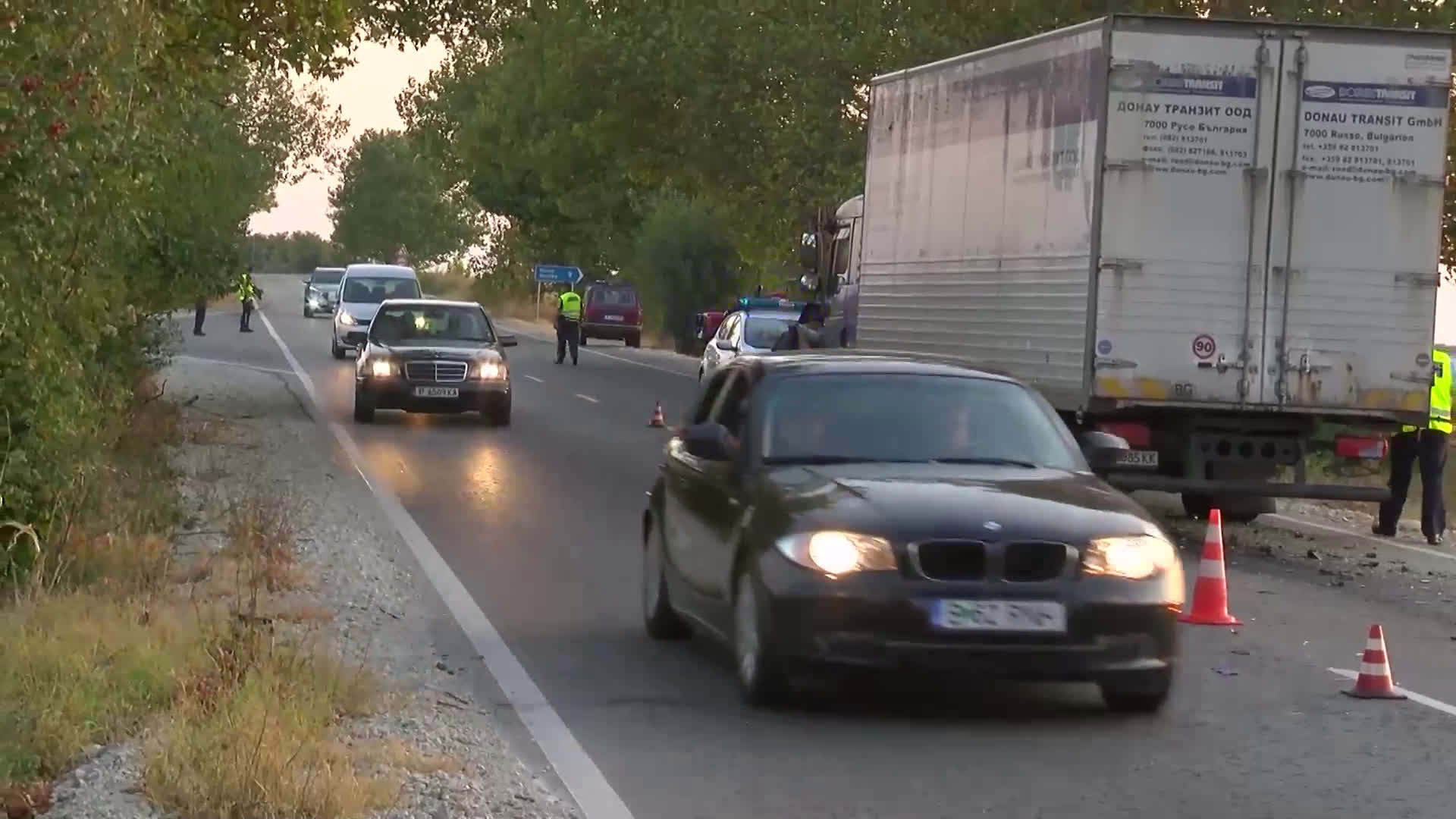 Жена загина на пътя Русе-Бяла след сблъсък с камион (ВИДЕО+СНИМКИ)