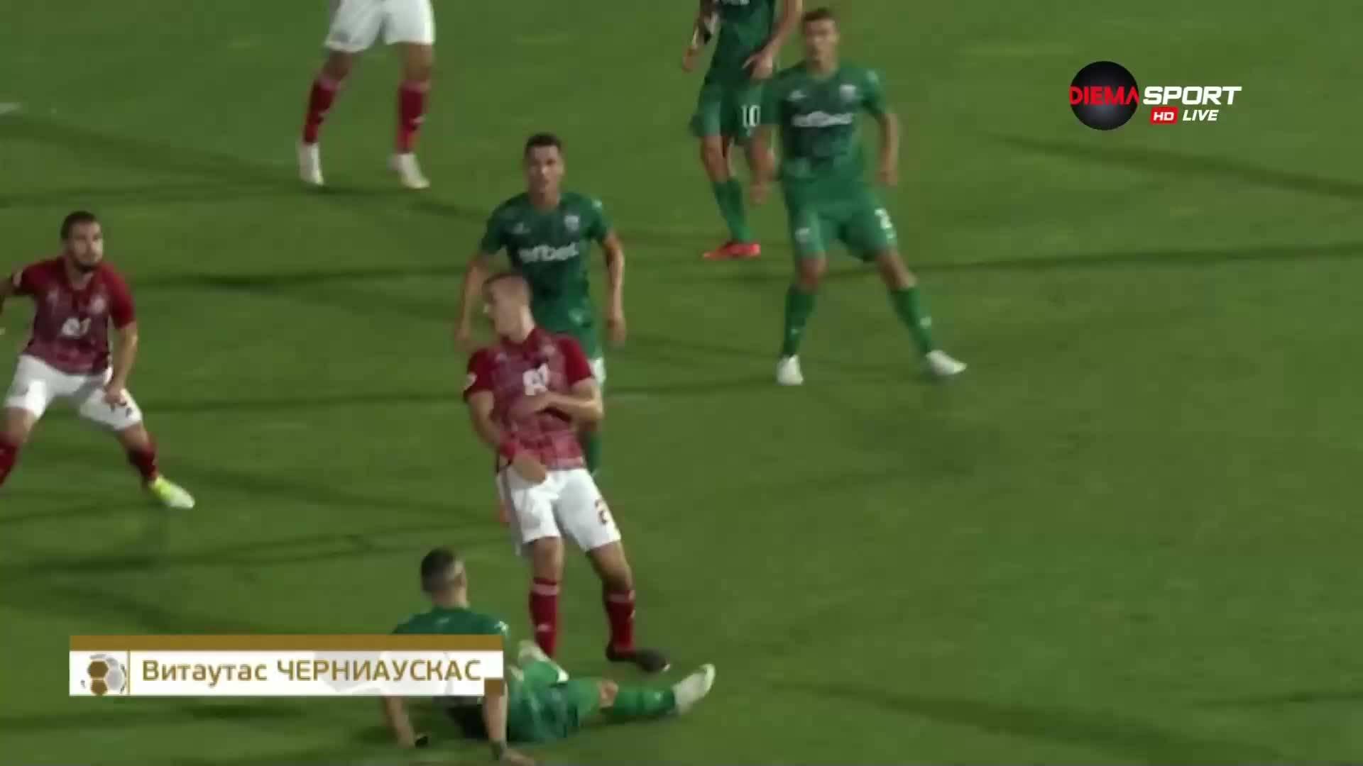 Спасяване на Витаутас Черниаускас от ЦСКА срещу Витоша