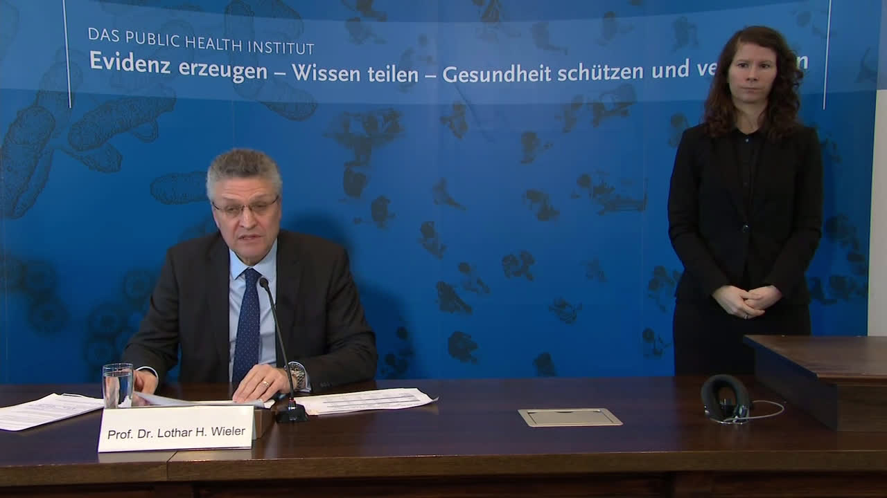 Germany: We are at beginning of epidemic, says Robert Koch-Institute chief