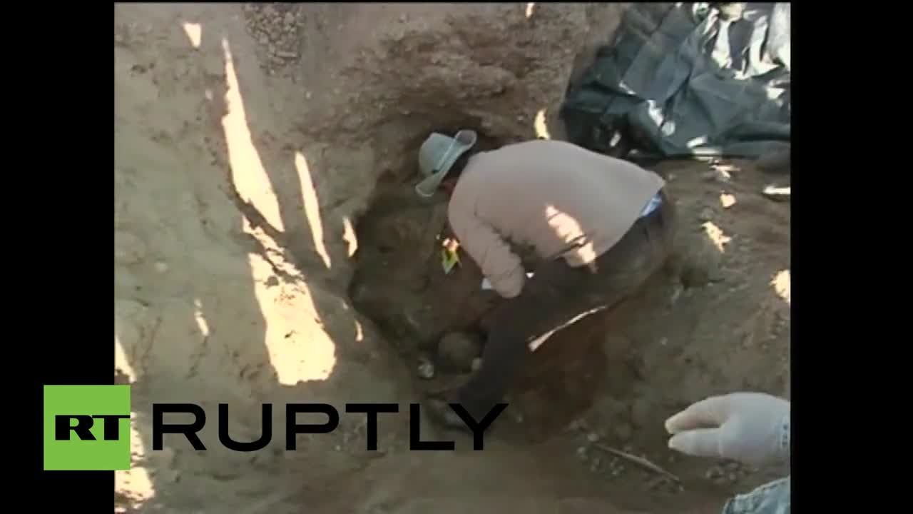 Iraq: Over 470 bodies of IS victims exhumed from mass graves in Tikrit