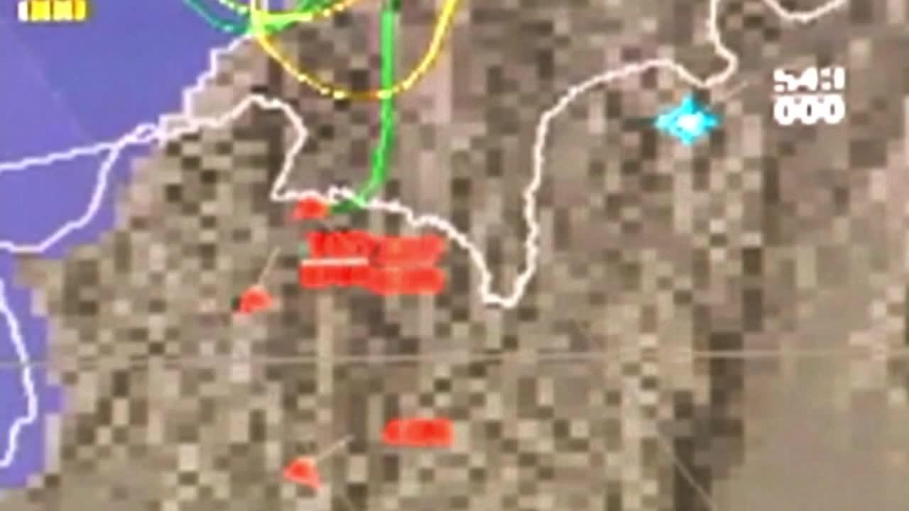 Русия: Схема на руското и сирийското въздушни пространства при полета на сваления СУ-24